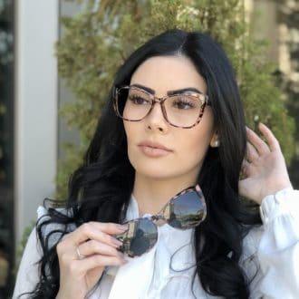 safine com br oculos 2 em 1 clip on gatinho tartaruga com rosa luma 4