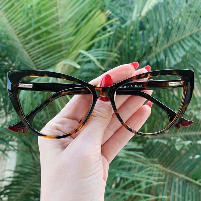 safine com br oculos 2 em 1 clip on gatinho tartaruga may 1