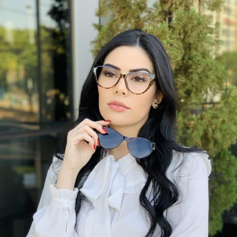 safine com br oculos 2 em 1 clip on gatinho tartaruga may 4