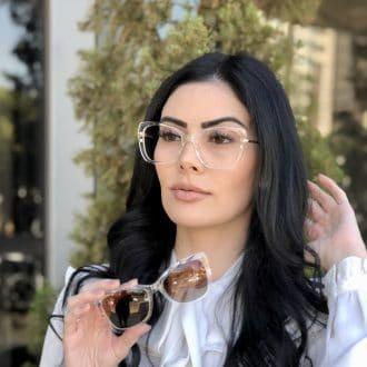 safine com br oculos 2 em 1 clip on gatinho transparente belly 1
