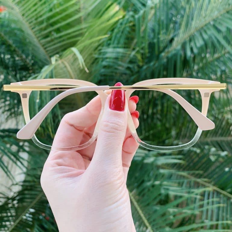 safine com br oculos 2 em 1 clip on quadrado nude monique 2