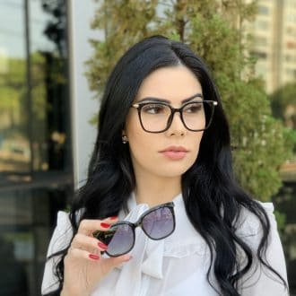 safine com br oculos 2 em 1 clip on quadrado preto monique 2