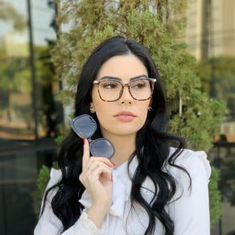 safine com br oculos 2 em 1 clip on quadrado tartaruga monique 2