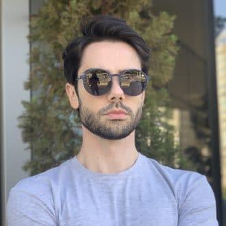 safine com br oculos 3 em 1 clip on masculino redondo azul gui
