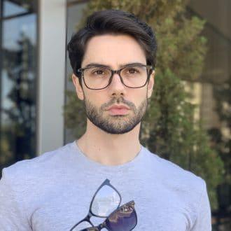 safine com br oculos 3 em 1 clip on masculino retangular preto luis 1