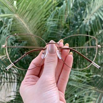 safine com br oculos de grau gatinho de metal cobre antonela 3
