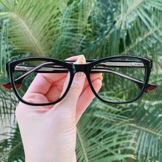 safine com br oculos de grau gatinho preto kelly