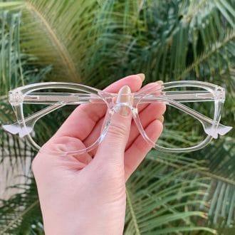 safine com br oculos de grau gatinho transparente kelly