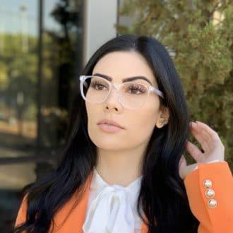 safine com br oculos de grau redondo em acetato lilas helena 3