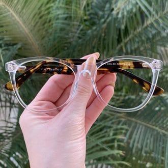 safine com br oculos de grau redondo em acetato tartaruga helena