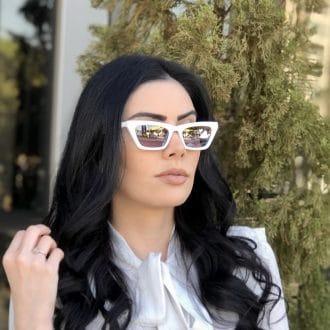 safine com br oculos de sol gatinho branco laiz 1