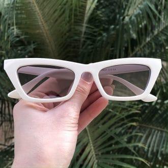 safine com br oculos de sol gatinho branco laiz