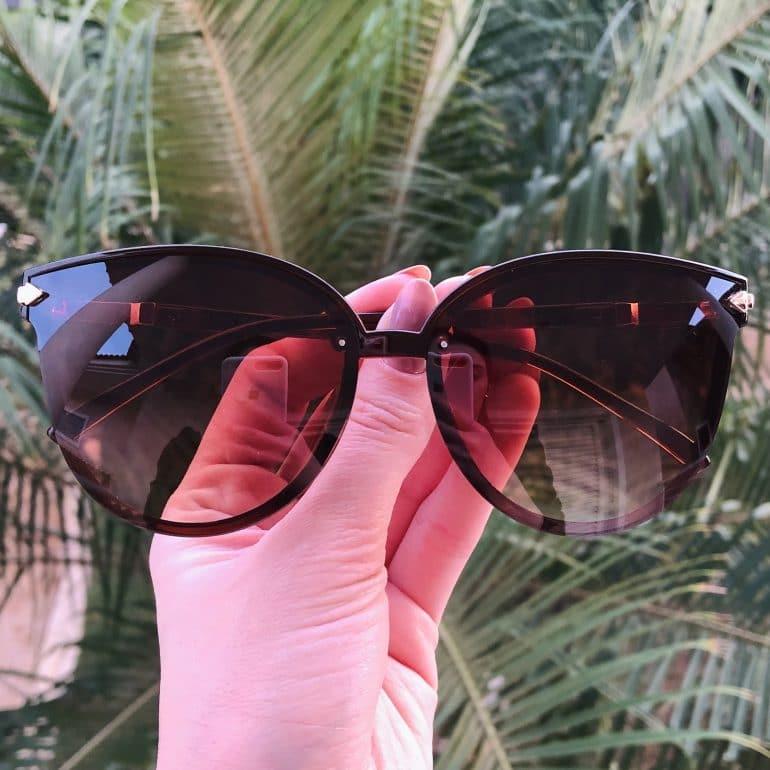 safine com br oculos de sol gatinho marrom brenda