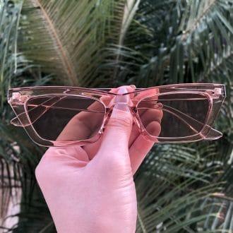 safine com br oculos de sol gatinho rose laiz
