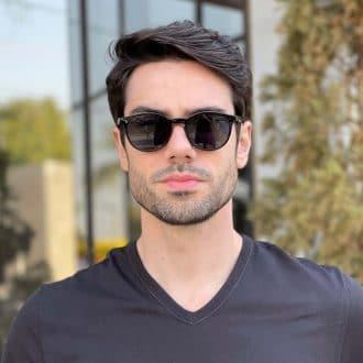 safine com br oculos 2 em 1 clip on masculino redondo preto caio 3