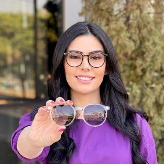 safine com br oculos 2 em 1 clip on redondo preto com transparente melissa 4