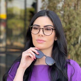 safine com br oculos 2 em 1 clip on redondo tartaruga alice 6