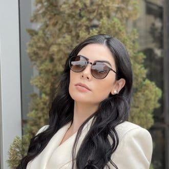 safine com br oculos 2 em 1 clip on redondo marrom paola