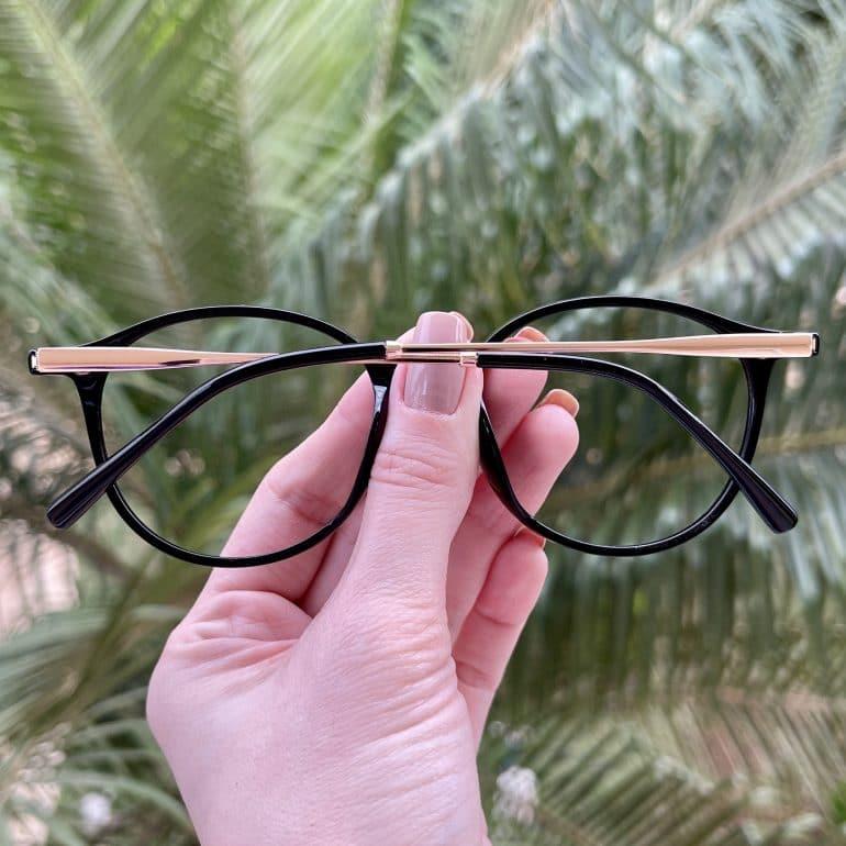safine com br oculos 2 em 1 clip on redondo preto paola