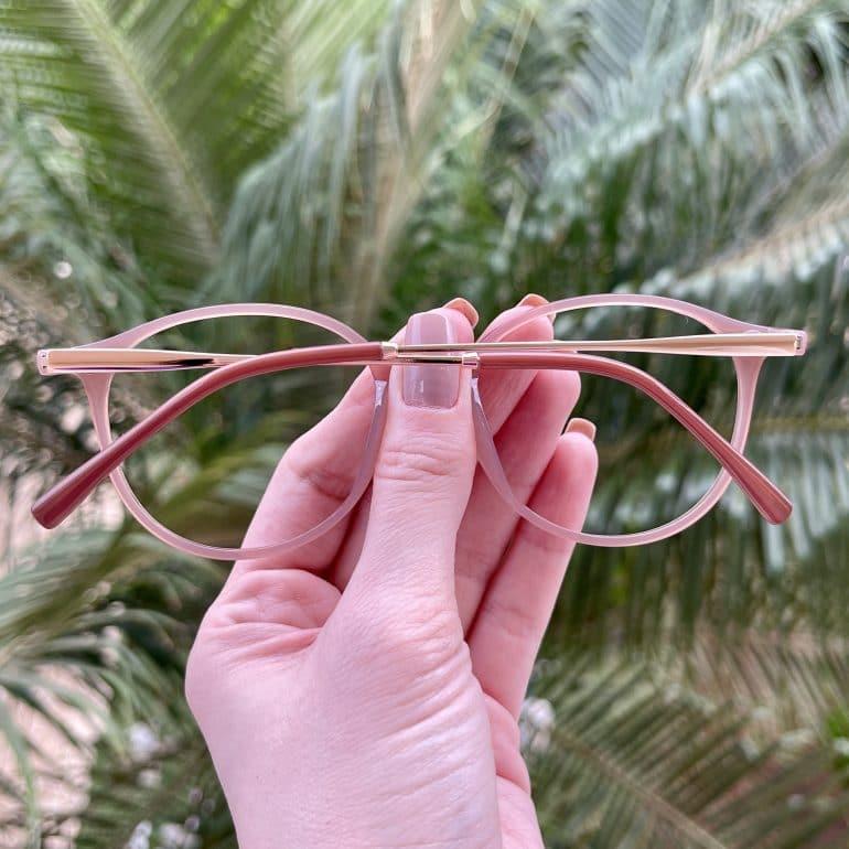 safine com br oculos 2 em 1 clip on redondo rose paola 1