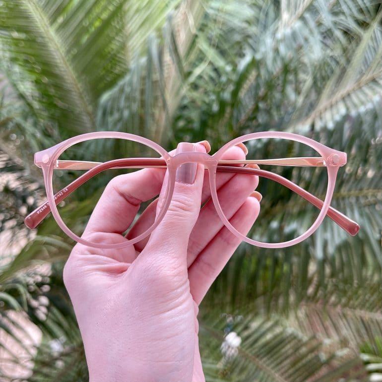 safine com br oculos 2 em 1 clip on redondo rose paola 2