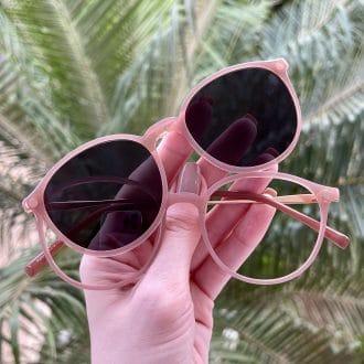 safine com br oculos 2 em 1 clip on redondo rose paola