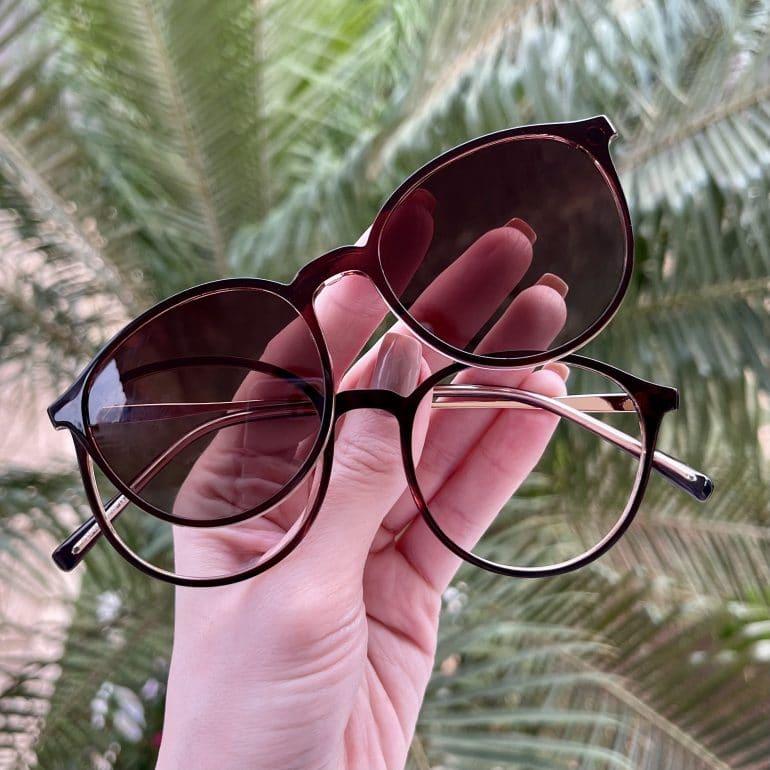 safine com br oculos 2 em 1 clip on redondo transparente paola 4