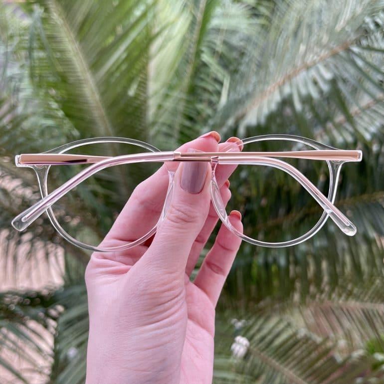 safine com br oculos 2 em 1 clip on redondo transparente paola 5
