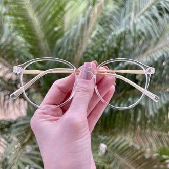 safine com br oculos 2 em 1 clip on redondo transparente paola 6