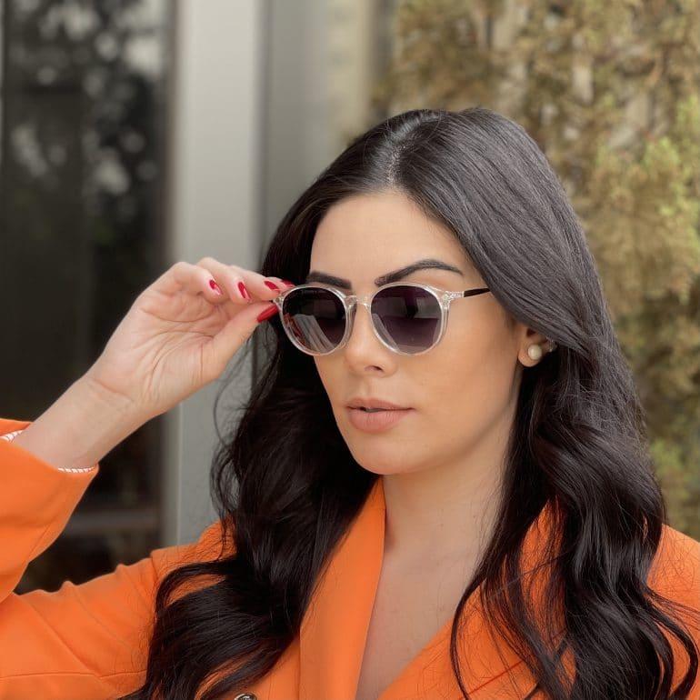 safine com br oculos 2 em 1 clip on redondo transparente paola 8
