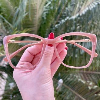 Óculos 2 em 1 Gatinho Rosé Ana 1