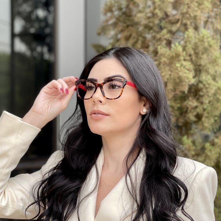 safine com br oculos de grau gatinho em acetato tartaruga com vermelho jolie 2