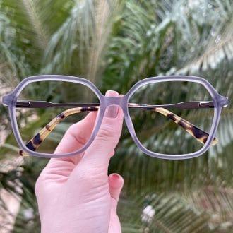 safine com br oculos de grau quadrado em acetato cinza giovana 4