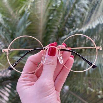 safine com br oculos de grau redondo rose nathalia 3