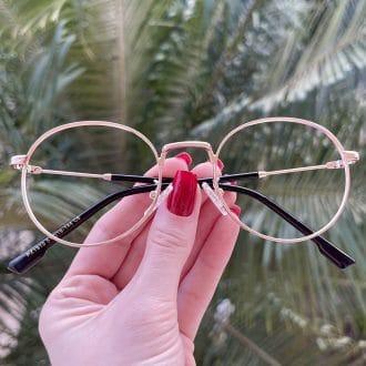 safine com br oculos de grau redondo rose nina