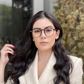 safine com br oculos de grau redondo tartaruga transparente bianca 3