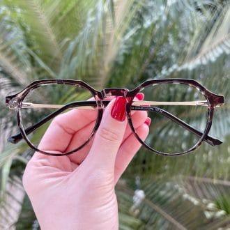 safine com br oculos de grau redondo tartaruga transparente bianca